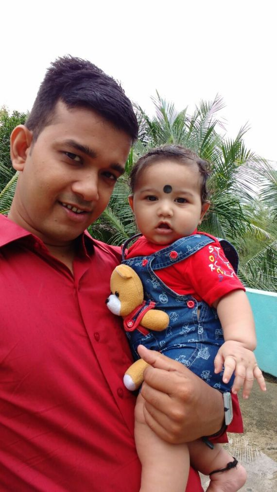 My son Dipesh kumar das