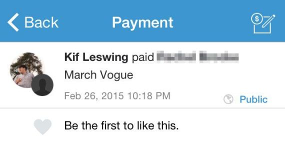 Still using venmo